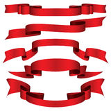 Rotes Farbband stock abbildung