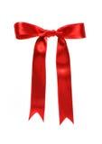 Rotes Farbband (mit Ausschnittspfad) lizenzfreies stockbild
