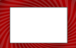 Rotes Feld Lizenzfreie Stockfotos