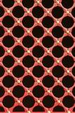 Rotes Fenstergitter Lizenzfreie Stockfotografie
