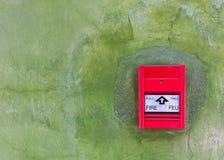 Rotes Feuersignal lizenzfreie stockfotos