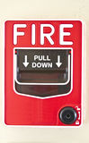 Rotes Feuersignal Stockbilder