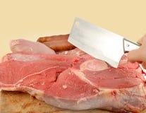 Rotes Fleisch lizenzfreies stockfoto