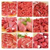 Rotes Fleisch Stockbild