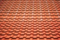 Rotes Fliese-Muster lizenzfreie stockfotos