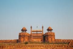 Rotes Fort, alte Ruinen in Delhi, Indien Stockfotos