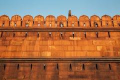 Rotes Fort, alte Ruinen in Delhi, Indien Lizenzfreies Stockbild
