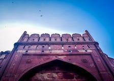 Rotes Fort Delhi Stockfotos
