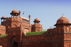 Rotes Fort, Delhi, Indien stockbilder
