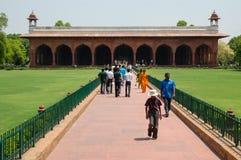Rotes Fort in Neu-Delhi, Indien Stockfotos
