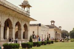 Rotes Fort in Neu-Delhi, Indien Stockbilder