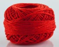Rotes Garn Stockbilder