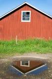 Rotes Gebäude stockbild