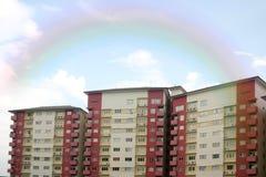 Rotes Gebäude Lizenzfreie Stockfotografie