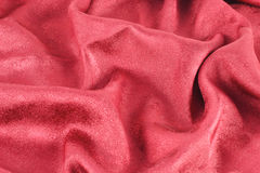 Rotes gekopiertes Satinalpha Stockbilder