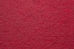Rotes gemaltes Segeltuch Lizenzfreie Stockfotografie