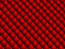 Rotes geometrisches Muster Stockbild