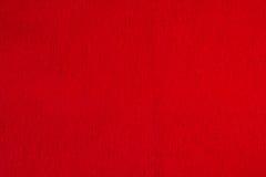 Rotes gewölbtes Papier Hintergrund Stockbild