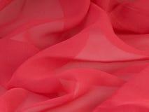 Rotes Gewebe. Hintergrund. Lizenzfreies Stockfoto