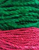 Rotes Grün Stockfotografie