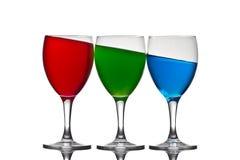 Rotes grün-blaues Lizenzfreie Stockfotos