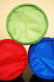 Rotes grün-blaues Stockfoto