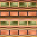 Rotes Grün des Illustrationsmuster-Hintergrundes Stockbilder