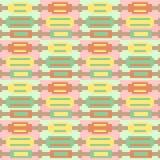 Rotes grünes Gelb des Illustrationsmuster-Hintergrundes Stockfotografie