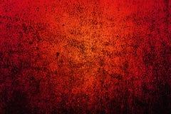 Rotes grunge Stockbild