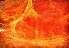 Rotes grunge Feld Stockfoto