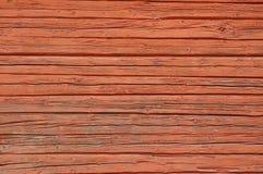 Rotes hölzernes des Hintergrundes Stockfoto