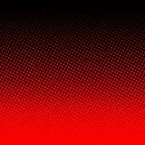 Rotes Halbton auf schwarzem Hintergrund Lizenzfreies Stockbild