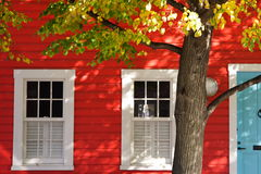 Rotes Haus Lizenzfreie Stockfotos