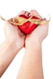 Rotes Herz lizenzfreie stockfotografie