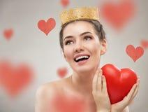 Rotes Herz Stockfotografie