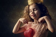 Rotes Herz Lizenzfreie Stockbilder