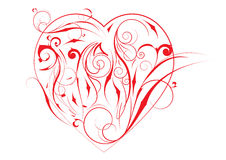 Rotes Herz stock abbildung