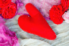 Rotes Herz Lizenzfreies Stockfoto