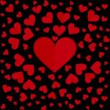 Rotes Herz Lizenzfreie Abbildung