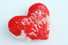Rotes Herz ist perfekter Hintergrund für Valentinsgrußtag Stockbild
