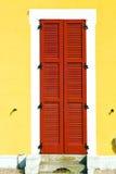 rotes Holz varano borghi Zusammenfassung sonniger Tagesvenetianisch Stockbild