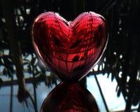 Rotes Inneres der Liebe 3D Lizenzfreie Stockfotografie