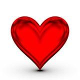 Rotes Inneres! klassisches Liebessymbol stock abbildung