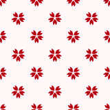 Rotes japanisches Kirsch-Kirschblüte-Muster stock abbildung