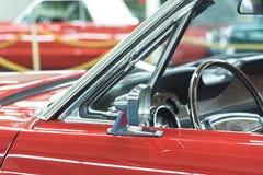 Rotes Kabriolett Stockfoto