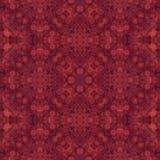 Rotes Kaleidoskopmuster - Hintergrundbeschaffenheit Lizenzfreie Stockfotografie