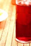 Rotes kaltes Getränk Stockfotos
