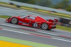Rotes Kamel-Team Saker GT TDI Stockbild