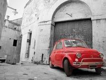 Rotes klassisches Auto. Stockbild