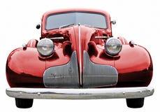 Rotes klassisches Auto Lizenzfreies Stockfoto